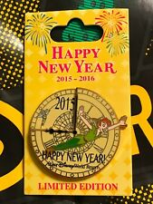 Disney Wdw Happy New Year 2015/2016 Peter Pan Pin Le