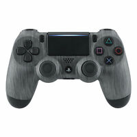 Brushed Silver Front Housing Shell for Playstation 4 PS4 Slim PS4 Pro Controller