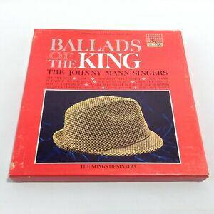 JOHNNY MANN SINGERS - BALLADS OF THE KING VOL.2 - REEL TO REEL TAPE - 7.5ips