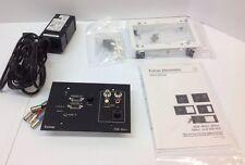 Extron 60-374-02 RGB 464XI Black Architectual Interface Module For AV 60-375-02