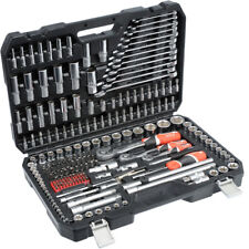 Yato Professional 216 pcs Ratchet Socket Set 1/2 1/4 3/8 Tools Toolbox YT-3884 1