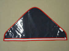 "Plastic Memorial Flag Case with Zipper for 5' X 9 1/2' Flag @13"" X 24"" Flat"