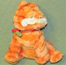 Ty GARFIELD BEANIE BUDDIES STUFFED ANIMAL Plush Cat Character COLLAR Tag 2004