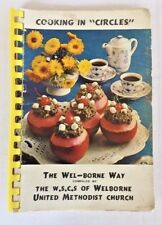 WELBONE UNITED METHODIST CHURCH COOKING IN CIRCLES COOKBOOK 1971