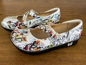 Near New ALEGRIA Mary Jane Shoes - size 40