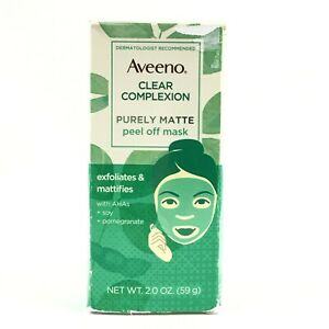 Aveeno Clear Complexion Purely Matte Peel Of Mask 2oz