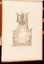 c1900 Furniture Designs French Illustrated Doris Langley Moore Very Scarce