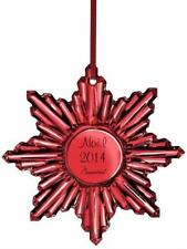 "Baccarat Red Crystal 2014 ""Noel"" Ornament,  New in Box"