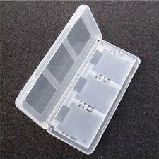 1 pcs 6 in1 Plastic Game Card Storage Holder Case Cover Box 3DS DSI DS NDS Clear