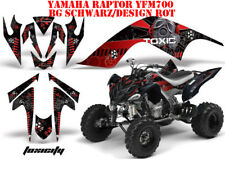 AMR RACING DEKOR GRAPHIC KIT ATV YAMAHA RAPTOR 125/250/350/660/700 TOXICITY B
