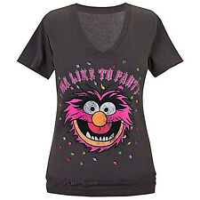Disney Store Muppets ''Me Like to Party'' ANIMAL Tee for Women T-Shirt T 2X  NEW