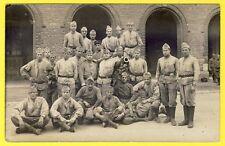 cpa Carte Photo Militaire SOLDATS du 306e Régiment d'Artillerie ? CANON