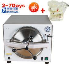 Dental Medical Autoclave Steam Sterilizer Equipment 121℃/ 0.12Mpa 110/220V **UPS