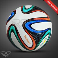 BRAZUCA FIFA WORLD CUP 2014 BRAZIL SOCCER BALL [SIZE 5] by│Rampage Sports