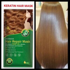 KERATIN PROTEIN INTENSIVE FOR DRY DAMAGED HAIR REPAIR TREATMENT MASK
