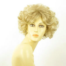 short wig women curly light blond wick very light blond/ FRANCINE 15T613 PERUK