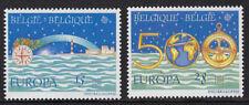 BELGIUM :1992 Europa pair ( Christopher Columbus) SG 3127-8 MNH