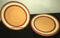 "(4) Gail Pitmann SIENA 11 1/4"" Dinner Plates"