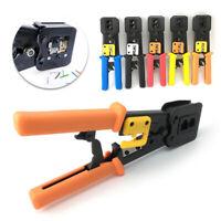 Crimper Tool Ethernet Network Cable RJ45 Rj11 Connector Stripper Crimping Cutter