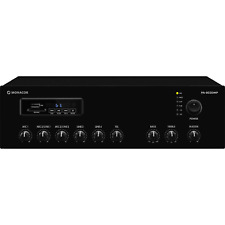 Monacor PA-803DMP 1x30W 100V PA Mixing Amp with Bluetooth