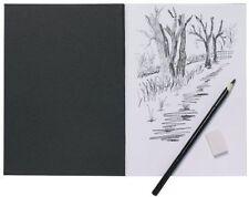 A5 Artiste Carnet De Croquis 110gsm Blanc Cartouche Papier Aquarelle,croquis Etc
