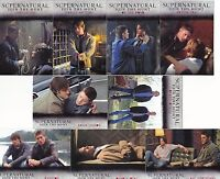 2014 Supernatural Seasons 1-3 Locations Complete Card Set - #'s L01-L09