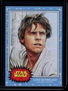 2020 Topps Star Wars Living Set #100 Luke Skywalker SP Card A New Hope