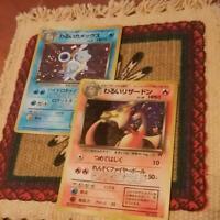 Pokemon Cards Team Rocket Dark Charizard & Dark Blastoise Holo set of 2