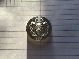 2 oz. SILVER ROUND SCOTTSDALE Stacker 0.999 - Hi Relief  *59 CENT AUCTION*