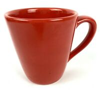 TABLETOPS Gallery Unlimited Cherry Red Coffee Mug Tea Cup Hand Painted Holiday