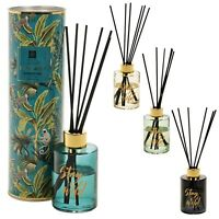 Luxury Home Aroma Scented Reed Diffuser Gift Tin Set Aromatic Air Oils Christmas