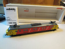 MARKLIN # 3389 HO ELECTRIC DUTCH POST OFFICE TRAMCAR NEW IN ORIGINAL BOX