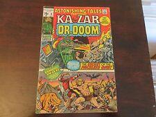 Astonishing Tales #3 (Dec 1970, Marvel) Ka-Zar FN- condition
