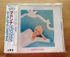 Madonna Secret remixes CD Single Japan W/OBI Bedtime Stories Celebration