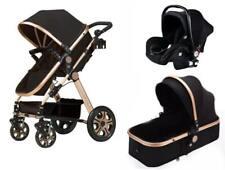 Newborn Infant Baby 3 in 1 Car seat stroller Bassinet basket travel system
