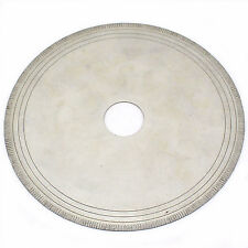 "6"" inch Notched Rim 0.7mm Lapidary Diamond Saw Blade Rock w Bushing 5/8"" 1/2"""