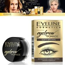 Eveline Eyebrow Pomade with Long Lasting Waterproof & Cremey Fürmel Weich Braun