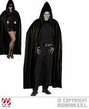 DRACULA VAMPIRE cape noir avec capuche, homme, Femmes