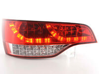 FK-Automotive LED Rückleuchten Set Audi Q7 4L Bj. 06- rot/klar NEU & OVP 420743