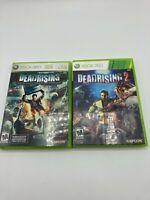 Microsoft Xbox 360 Tested CIB Dead Rising 1 2 Bundle Lot