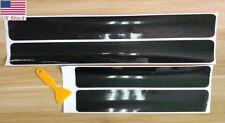 US Accessories Carbon Fiber Car Scuff Plate Door Sill 5D Sticker Panel Protector