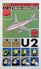 "U2 Virgin shop 2000 16"" x 12"" Photo Repro Promo Poster"