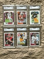 2019 and 2020 Score Football Rookies Graded Gem Mint GMA 10 Pick your cards auto