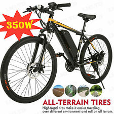 26INCH Electric Bike Mountain Bicycle EBike With Removable Lithium Battery,350W
