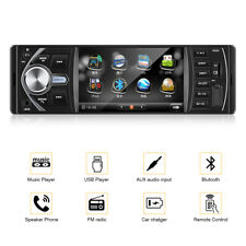 "4"" 1DIN Car Media Player AUTORADIO STEREO RADIO MP3 LETTORE FM USB SD AUX BT IT"