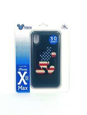 Disney 4th July USA Flag Mickey 3-D Effect Apple iPhone Xs Max Cellphone Case