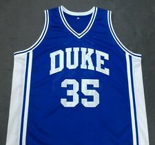 DANNY FERRY DUKE Blue Devils Blue Basketball Jersey Gift Any Size