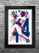 ANTHONY RIZZO art print/poster CHICAGO CUBS FREE S&H