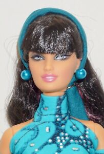 "2007 TERESA Doll ""Top Model Hair Ware""~ Mattel LARA FACE SCULPT ~Model Muse"