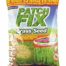 Tuff Lawn Grass Seed patch Repair Kit 460g Covers 25 sqm Hard Wearing Quality Uk